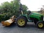 Tractor Mowing Bream Bay
