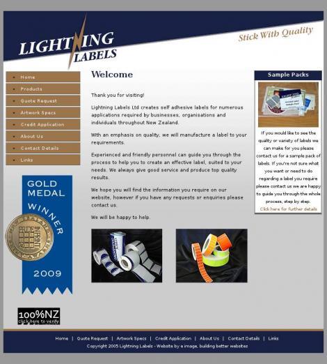 Lightning Labels Ltd