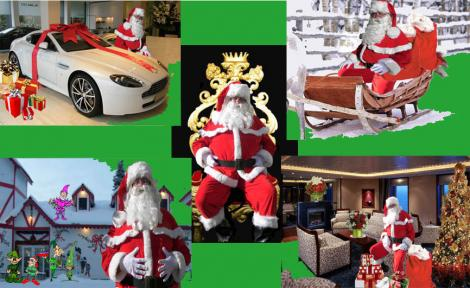 Hire a Santa (any time of year)