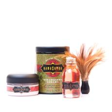 Kama Sutra Strawberry Gift Pack