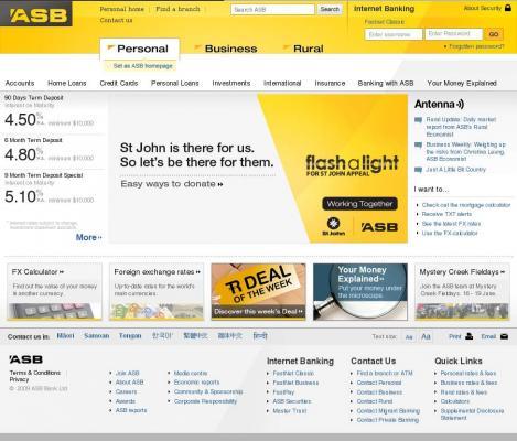 Asb Bank • asb co nz/story501 asp