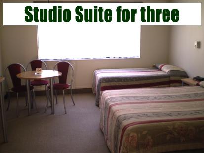 Studio Suite for three