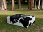Cowhide Ottomans custom made